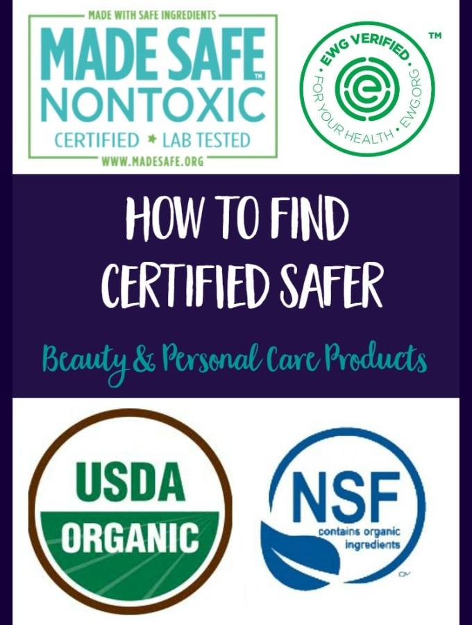 4 Certifications To Help You Shop For Safer Beauty Products