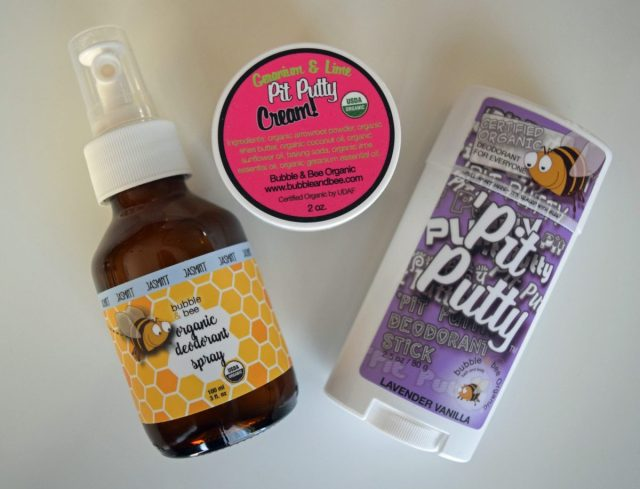Bubble & Bee Natural Deodorant | Mindful Momma