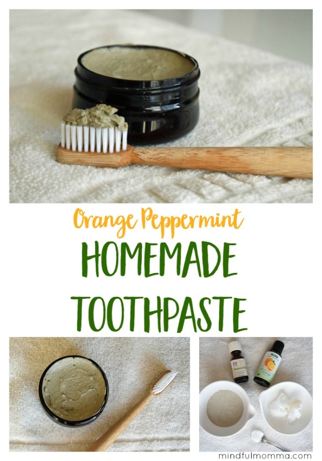 Orange Peppermint Homemade Toothpaste | DIY Beauty | Non Toxic | Healthy Living