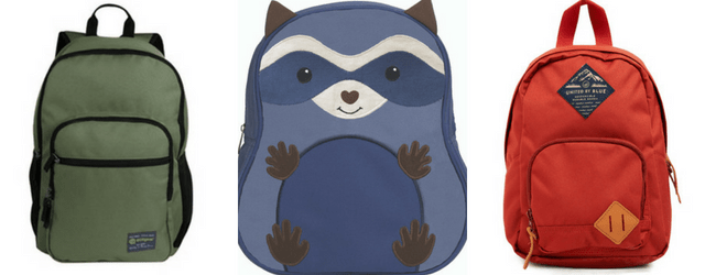 Backpacks - Eco-Friendly School Supplies