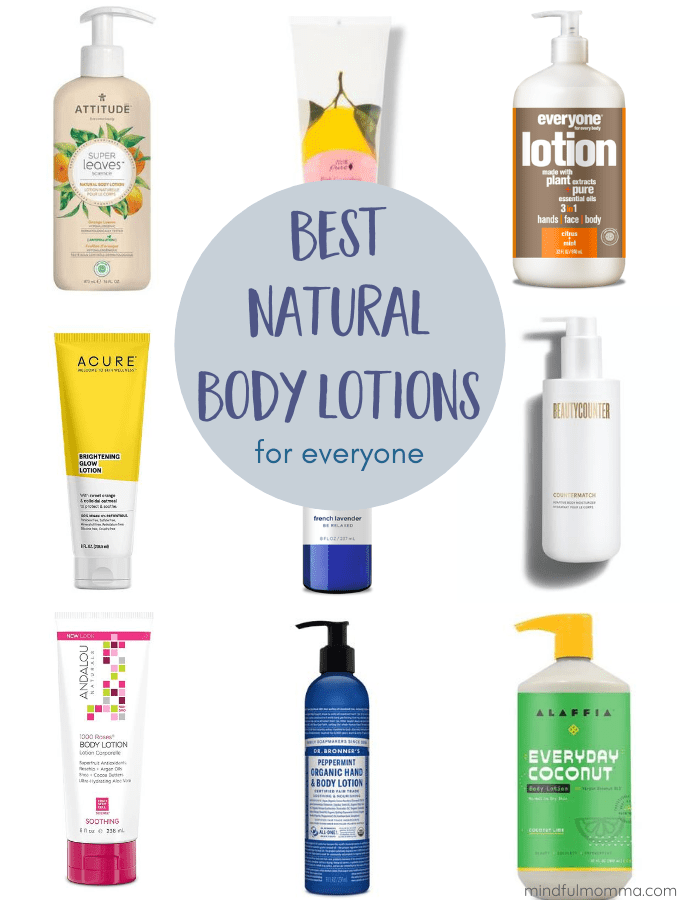 Best Natural Lotion Brands
