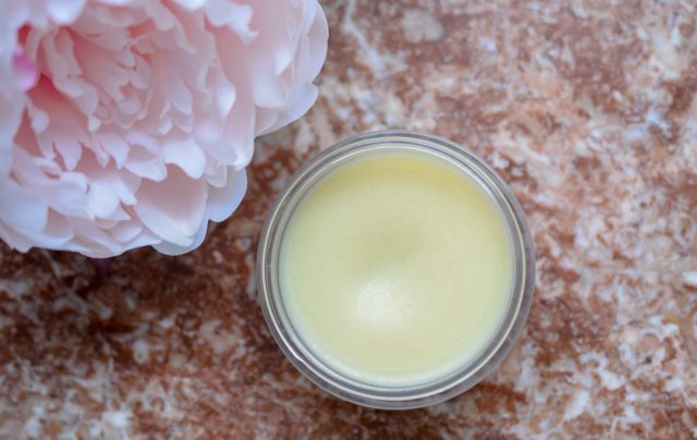 DIY Cleansing Balm with Petunia