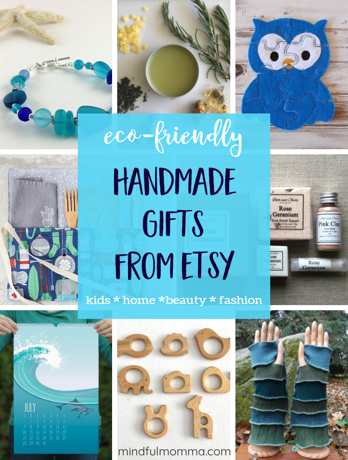 Eco Friendly Handmade Gifts from Etsy