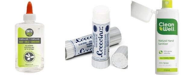 Glue + Hand Sanitizer Eco-Friendly School Supplies