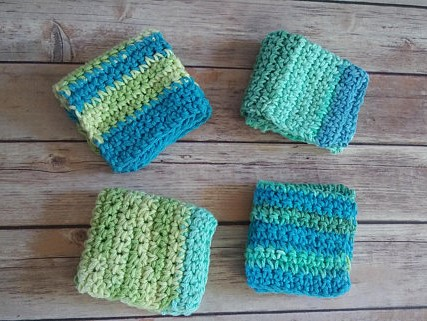 Handmade washcloth and other eco friendly gifts