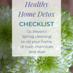 Healthy Home Detox Checklist to Jumpstart Your Spring