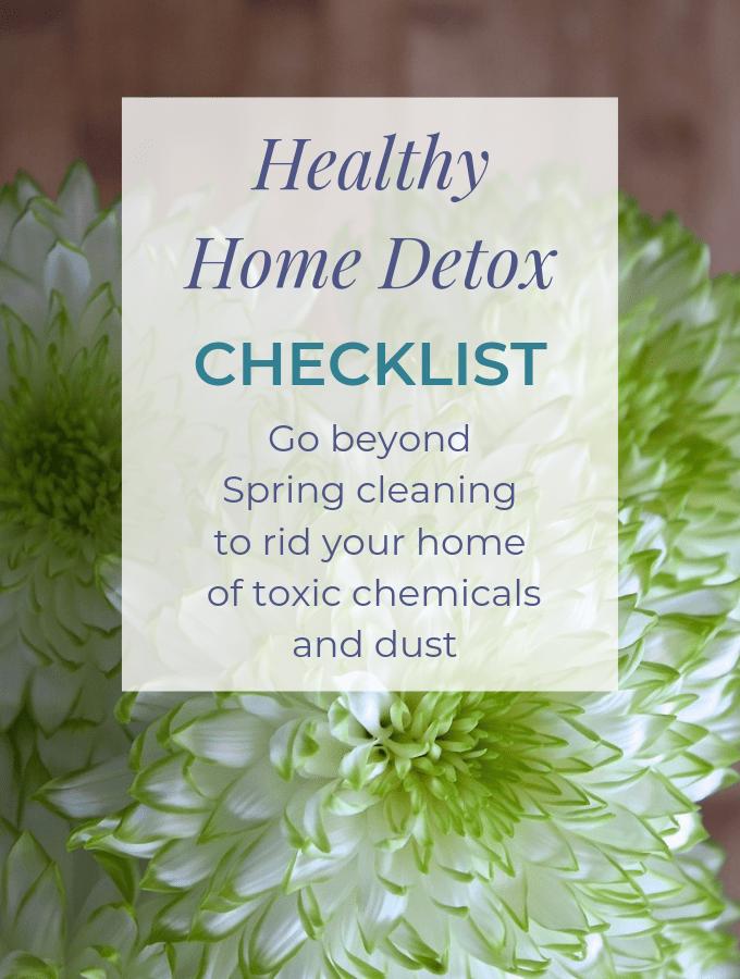 Healthy Home Detox Checklist