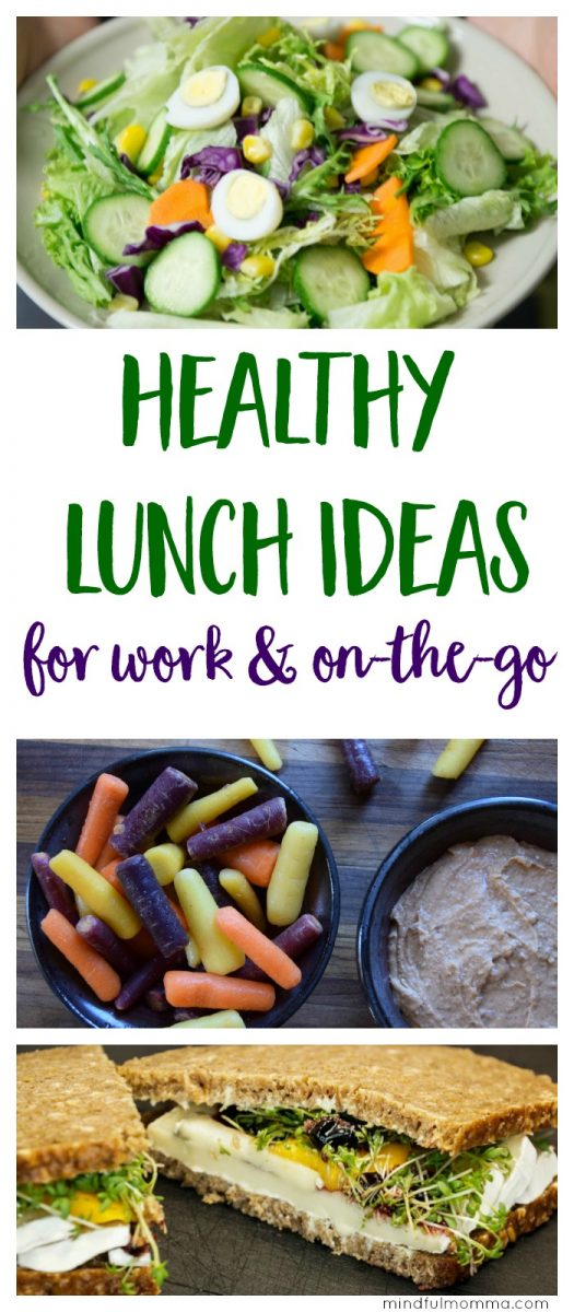 Healthy lunchbox ideas that go beyond basic sandwiches. Don't be tempted by fast food and unhealthy snacks - pack a healthy, satisfying lunch from home to bring to work or anytime you need food on-the-go! | healthy lunch food | packed lunch | real food