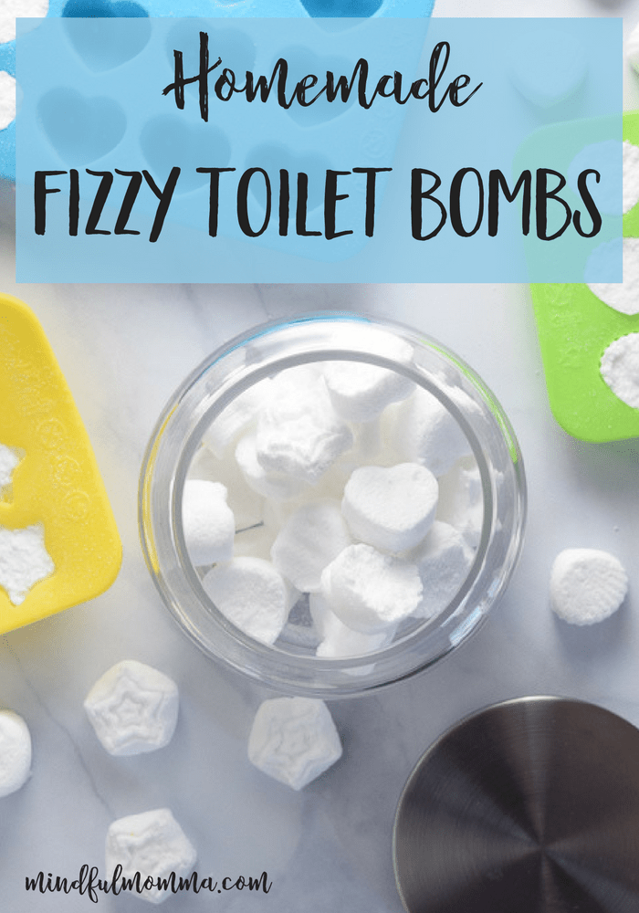 DIY Fizzy Toilet Bombs