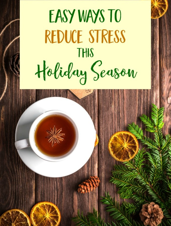 5 Ways to Reduce Stress This Holiday Season {Giveaway}