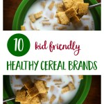 Kids will love these healthy breakfast cereal brands that are organic, GMO-free, low sugar and higher in nutrition than conventional cereal.