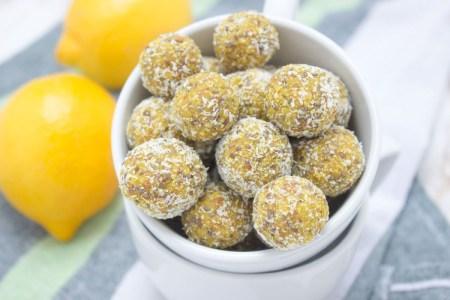 Lemon Turmeric Energy Balls by Natalie's Food & Health