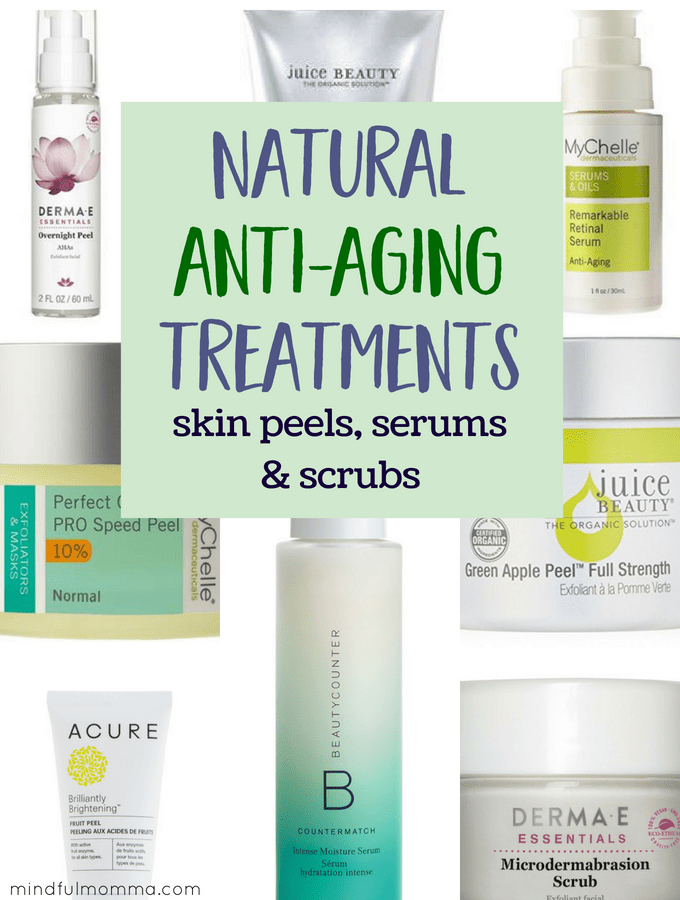 Natural Anti-Aging Treatments