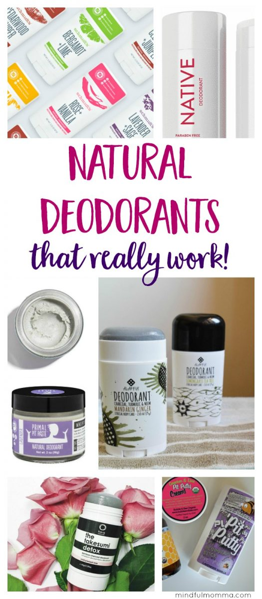 Learn the differences between popular natural deodorant brands - so you can find the natural deodorant that works best for your needs.   non-toxic deodorant   natural beauty   #nontoxic #natural  via @MindfulMomma