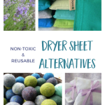 Non-Toxic Dryer Sheet Alternatives For Naturally Fresh Laundry