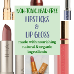 Top Non-Toxic Lipsticks & Lip Gloss Brands