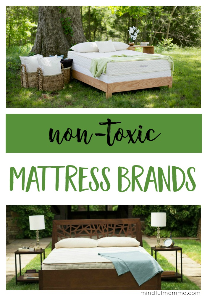 Get the scoop on the best non-toxic mattress brands including safe materials and fire retardants used, eco-friendly certifications, pricing and more.