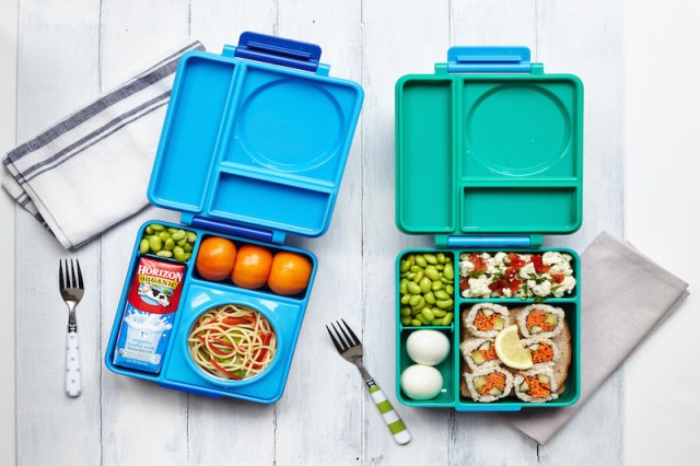 OmieBox and other reusable lunch containers