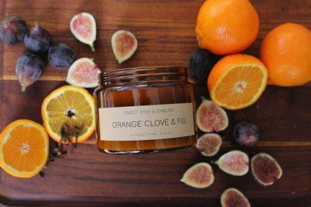 Orange Clove + Fig Soy Candles