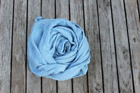 Organic Cotton Gauze Scarf