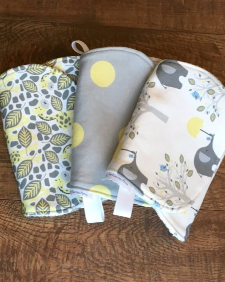 Organic Cotton burb cloth set