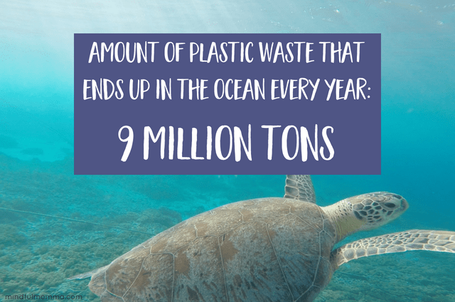 Plastic in ocean - How to reduce plastic use