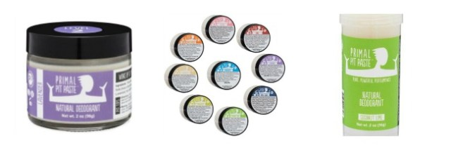 Primal Pit Paste and other natural deodorant that work