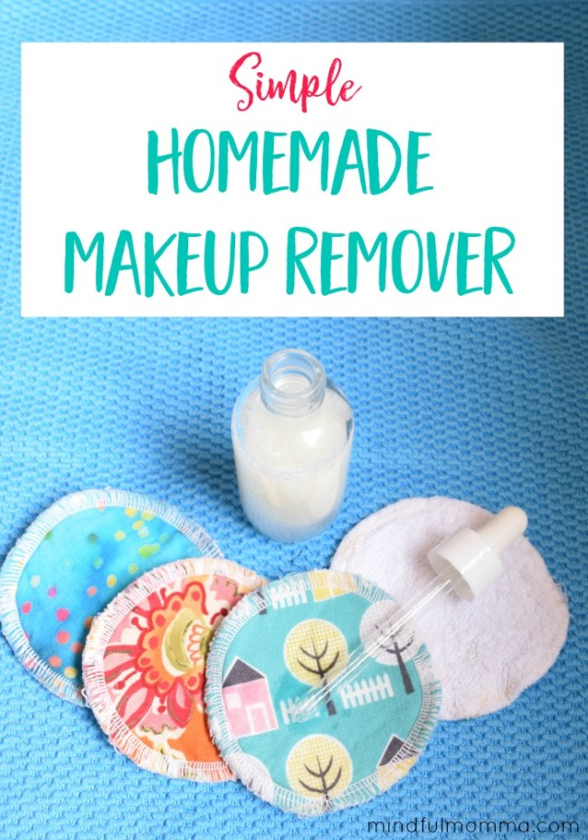 Simple Homemade Makeup Remover