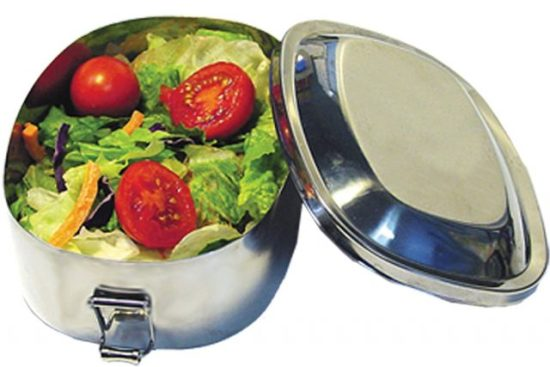 Stainless Container by New Wave Enviro and other reusable lunch containers
