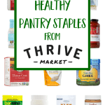 The Best Healthy Pantry Staples From Thrive Market