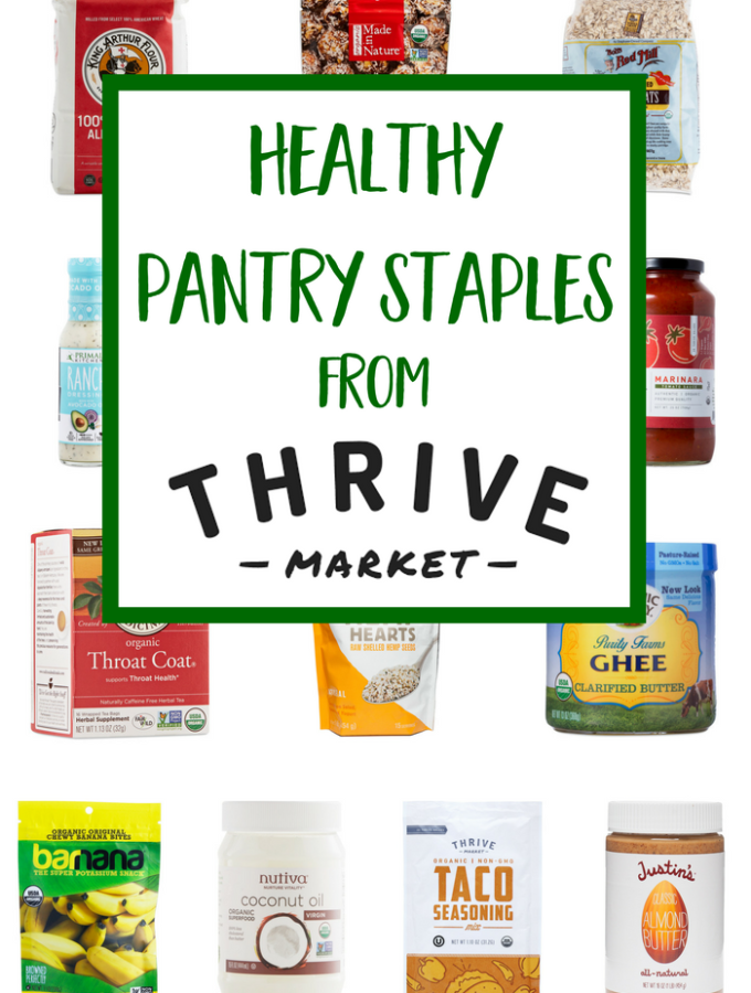 Healthy Pantry Staples from Thrive Market