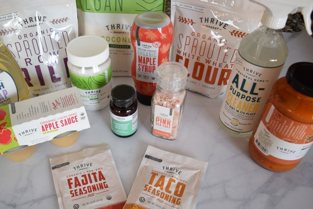 Thrive Market private label brand products