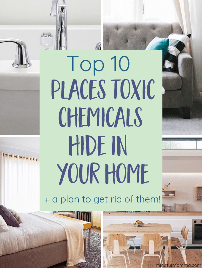 Top 10 Places Toxins Hide in the Home