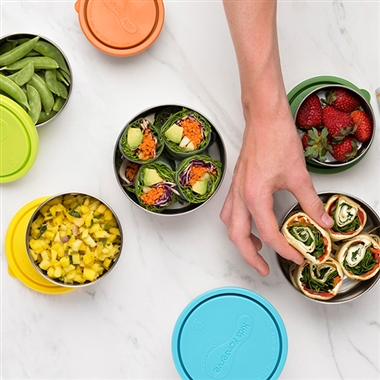 UKonserve Round Containers and other reusable lunch containers