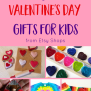 Candy Free Valentine S Day Gifts For Kids