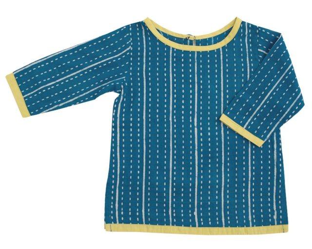 Handmade baby tunic