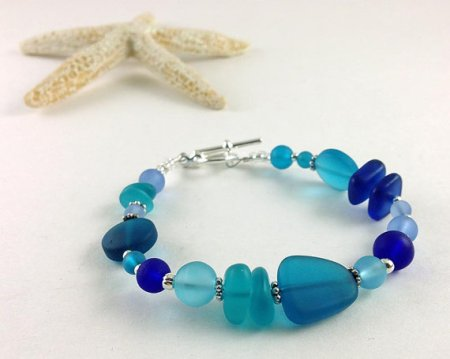 sea glass bracelet and other eco friendly gifts