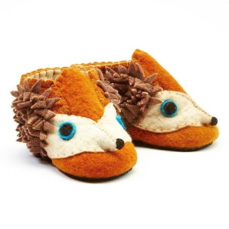 toddler bootie hedgehog eco-friendly gifts for kids