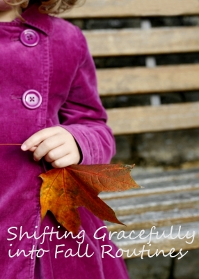 Shifting Gracefully into Fall Routines