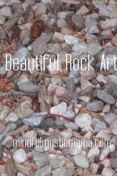 Creating Beautiful Rock Art