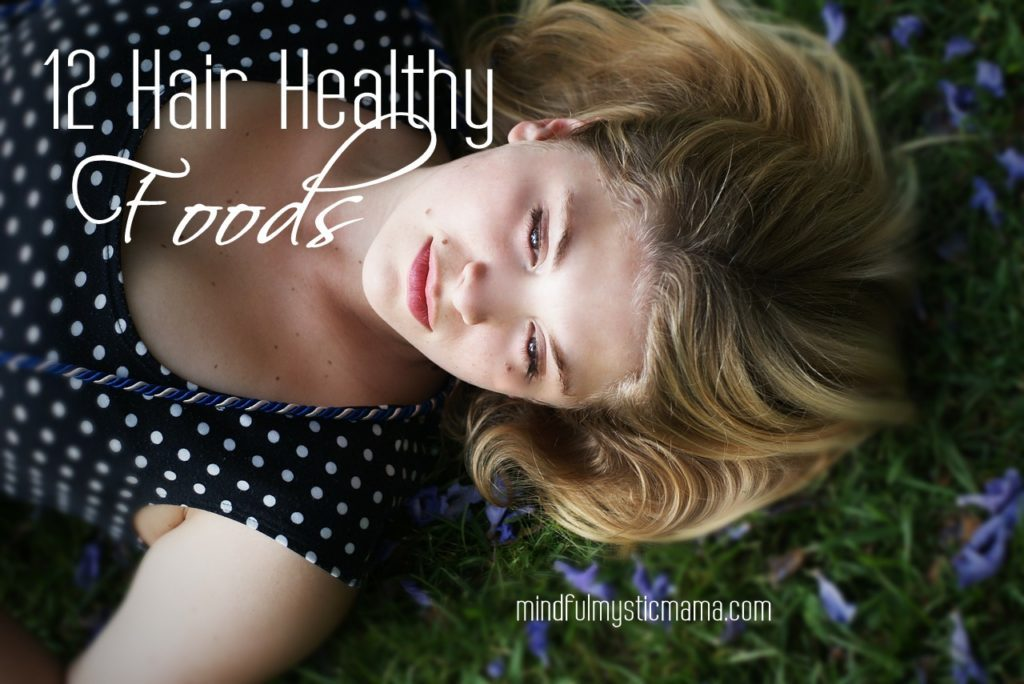 hair healthy foods