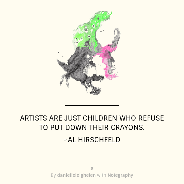 artists are children