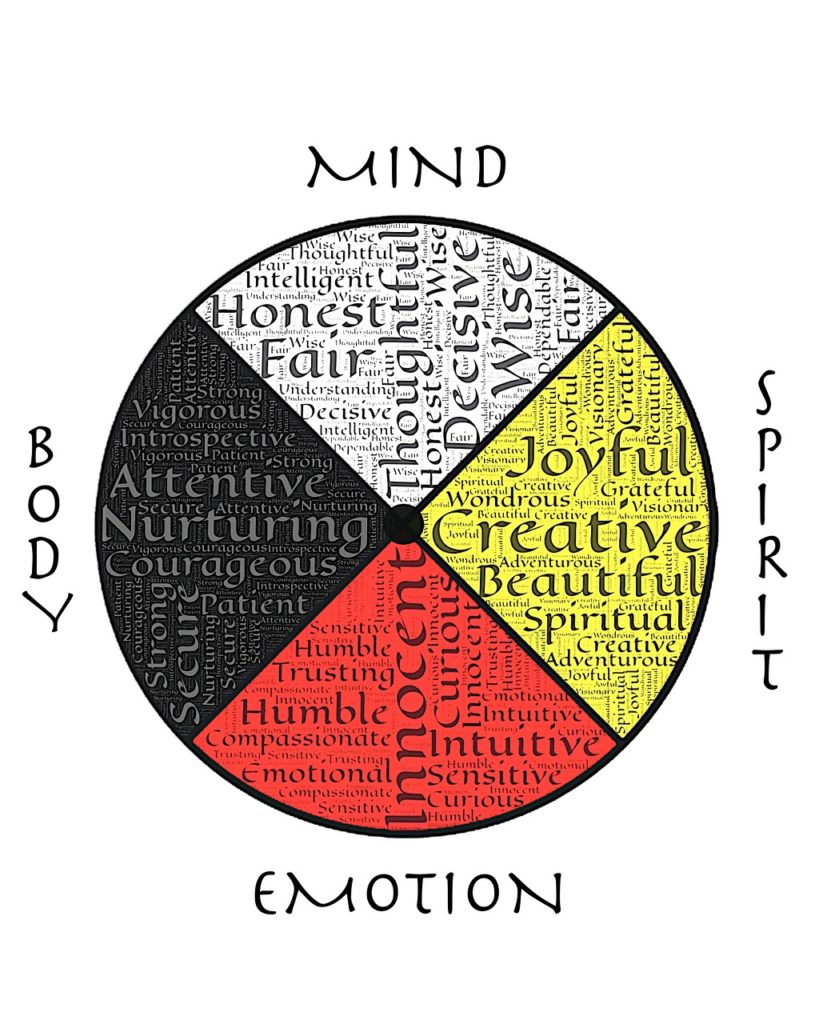 mind body medicine wheel