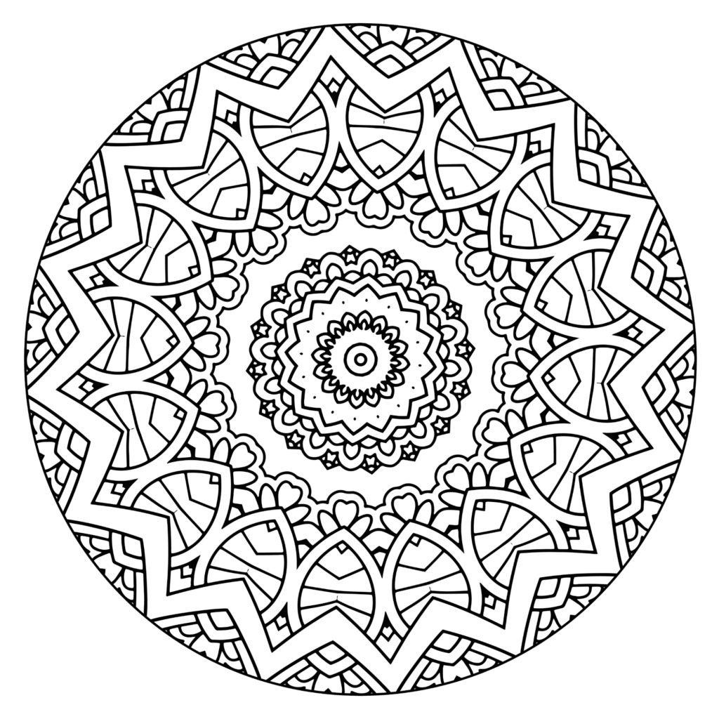 Free Coloring Mandalas