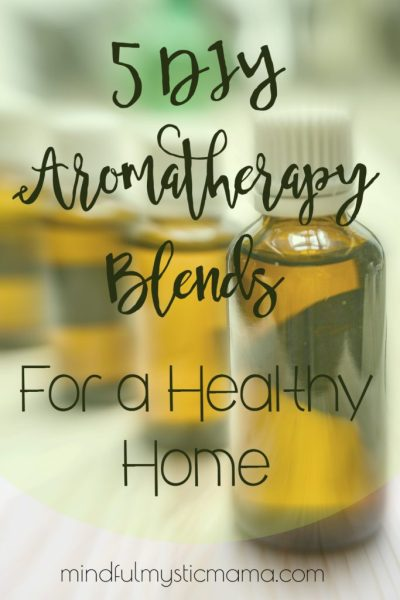 5 DIY Aromatherapy Blends for a Healthy Home