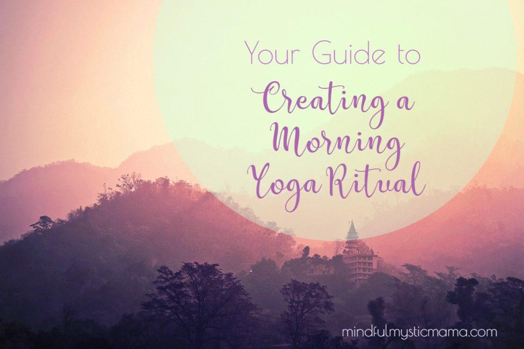morning yoga ritual