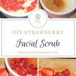 DIY Strawberry Facial Scrub