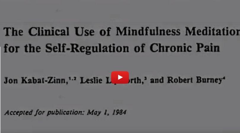 Mindfulness výskum