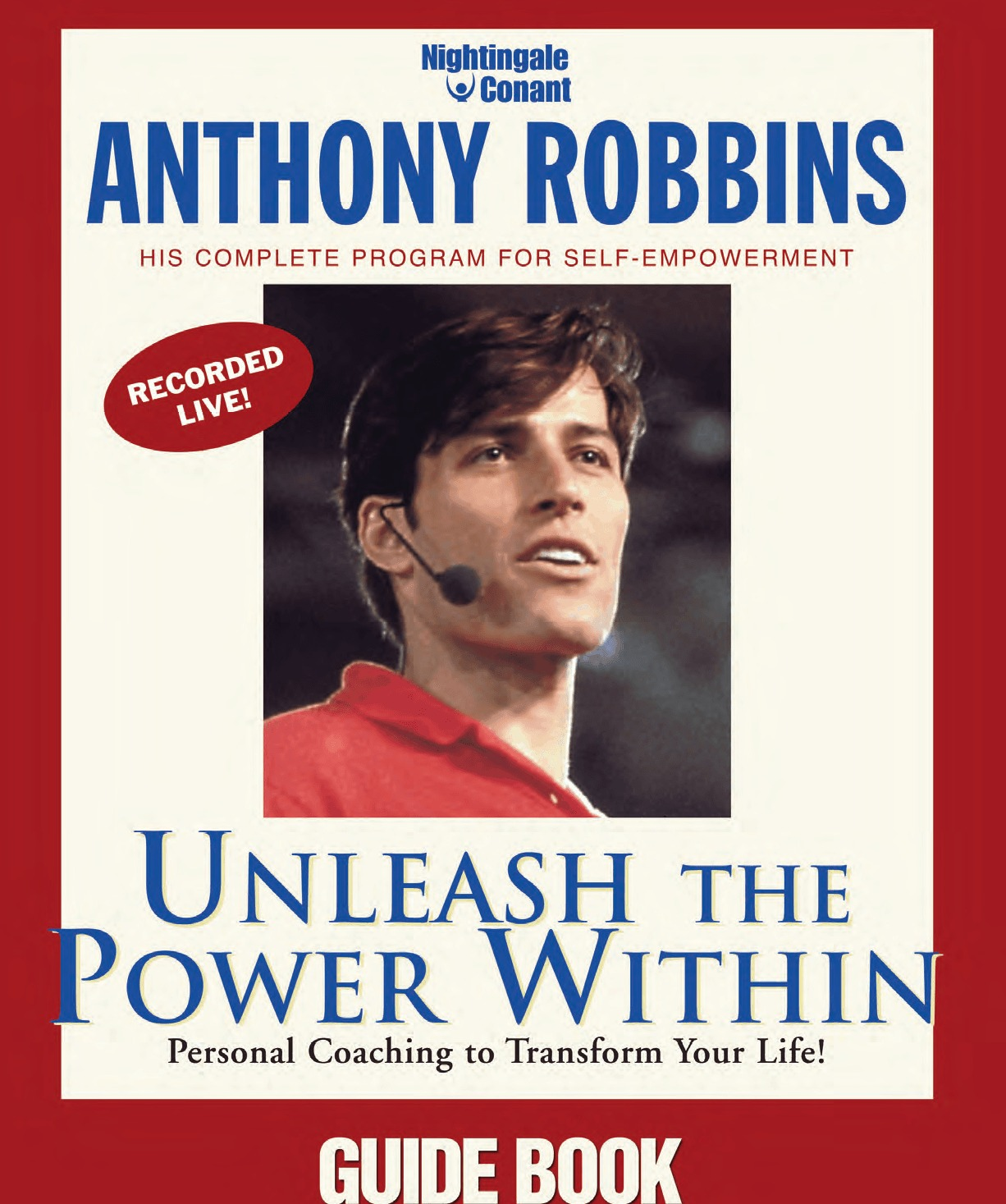 Anthony Robbins Unleash The Power Within