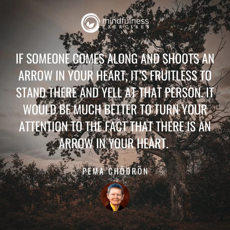 If Someone Comes Along Pema Chodron Inspirational Mindfulness Quotes